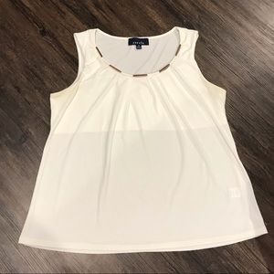Women's white blouse medium